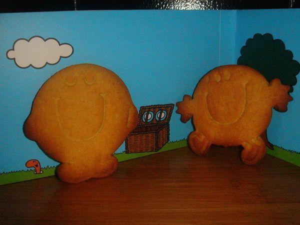 Petist biscuits sablés  Monsieur Madame