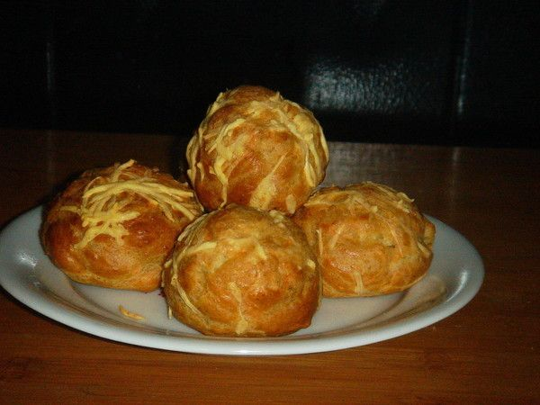 Gougère au fromage et cumin
